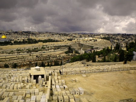 hebrews: Israel views of the city and desert areas