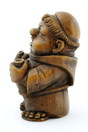 friar: friar of wood, with wine