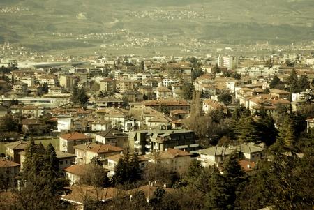 High Angle View on Rovereto photo