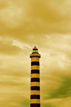 beautiful lighthouse in Italy Stock Photo - 10928579