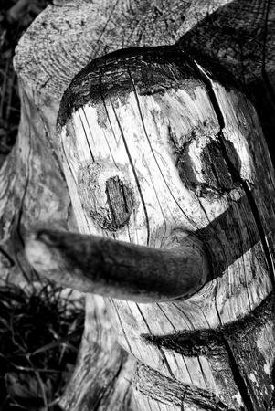 wood figurine: wood pinocchio