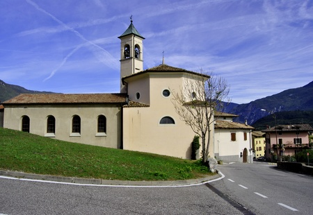 Italy  in a small town. Trentino