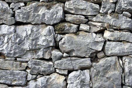 wall made from rock Stock Photo - 11453137