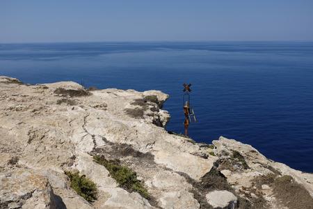 sea scenery: italian island lampedusa