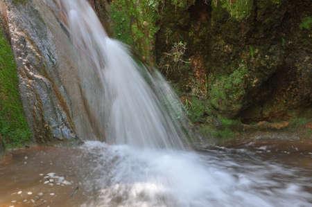 crick: farod cascata dal lato