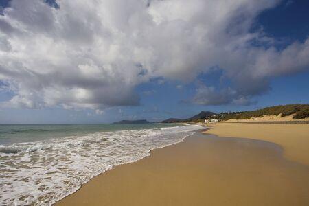 porto: Porto Santo�s beach part of Madeira Island Stock Photo