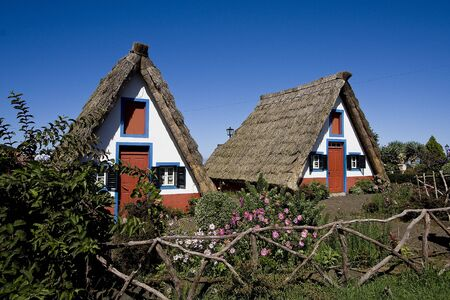 traditional house: Traditional House in Santana village in Madeira