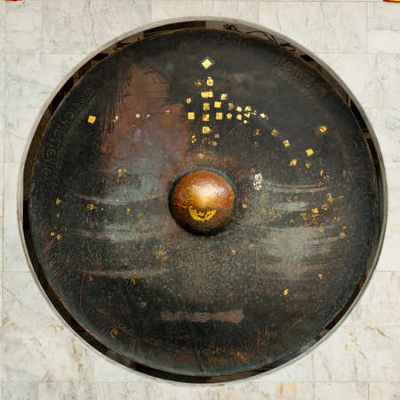 gong antique circle music design photo