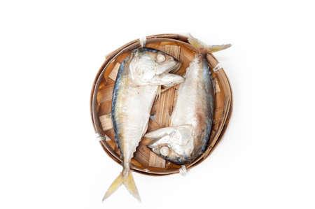 fish thai bamboo market mackerel Stock Photo - 21212451