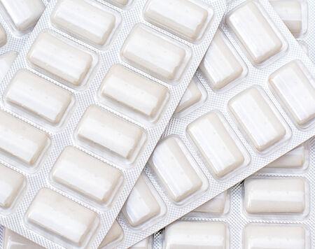 喫煙を止めるのためにニコチンのゴムのパケット