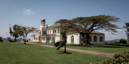 kampala: The house of the president from Uganda in the capital Kampala. Editorial