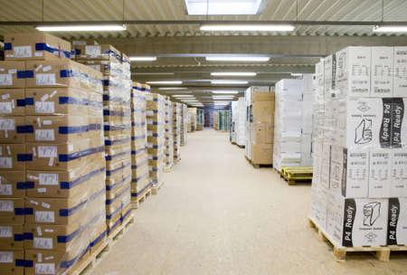 inventario: Warehouse_3 Foto de archivo