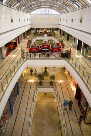 multilevel shopping mall Stock Photo - 729702