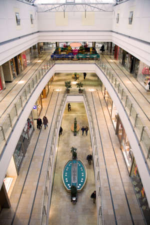 multilevel shopping mall Stock Photo - 729699