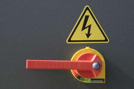 switchgear: high voltage switch