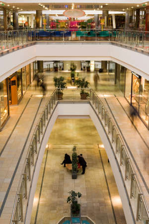 multilevel shopping mall Stock Photo - 731460