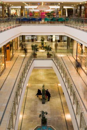 multilevel: Multilivello centro commerciale  Archivio Fotografico