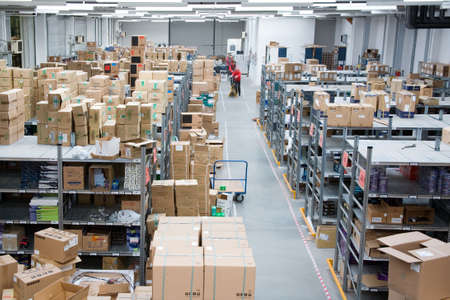 inside of a Warehouse Stock Photo - 963677