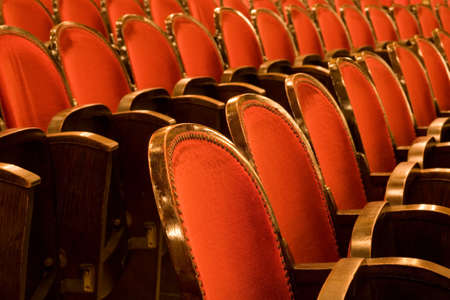 chairs in a theater