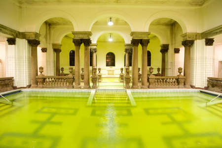 swimming pool in the public baths