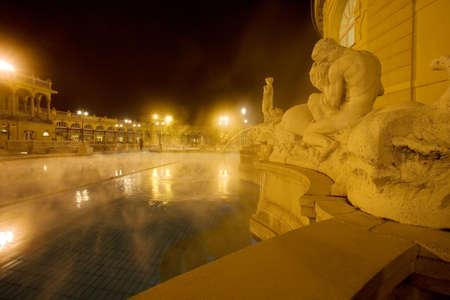 night in the empty public baths