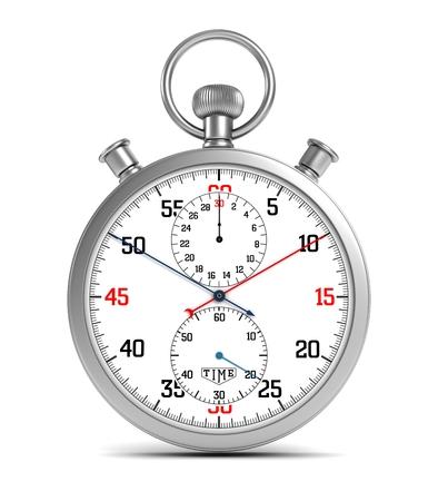Singola illustrazione del cronometro 3d Archivio Fotografico - 63994365