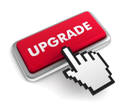troubleshoot: upgrade 3d illustration isolated on white background