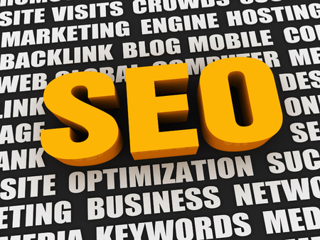 keywords: seo 3d concept illustration and realated keywords