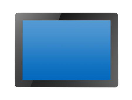 tablet computer 3d illustration