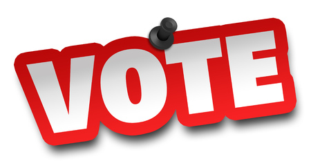 vote concept 3d illustration isolated