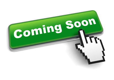 coming soon concept 3d illustration isolated Stock Photo