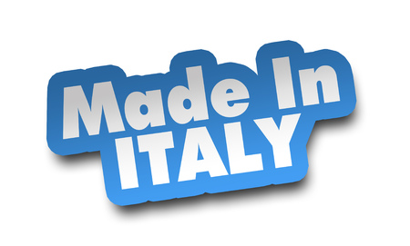 made in italy concept 3d illustration isolated