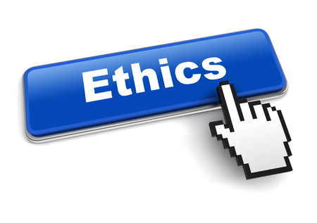 ethics concept 3d illustration isolated
