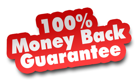 money back concept 3d illustration isolated on white background Фото со стока - 116553455