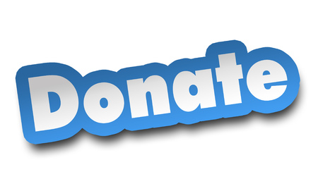 donate concept 3d illustration isolated on white background Standard-Bild - 120725637