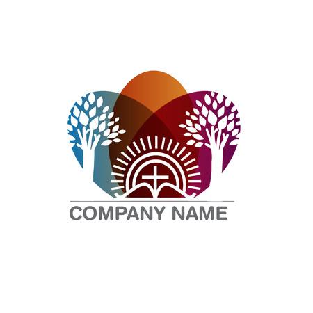 stigma: Template logo for churches and Christian organizations