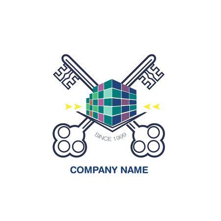 Real Estate Luxury logo design template