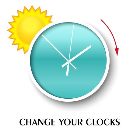 daylight: Change your clocks message for Daylight Saving Time