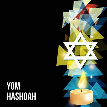 Vector illustration of a background for Yom Hashoah -remembrance Day eps 10 Illustration