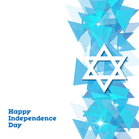 Israel Independence Day Design illustration. eps 10 向量圖像