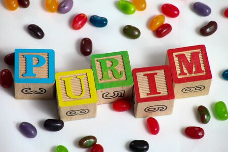 Happy Purim , jewish carnival holiday