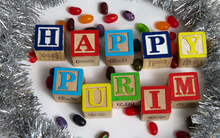 Happy Purim , jewish carnival holiday