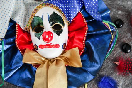 Carnival harlequin mask Reklamní fotografie
