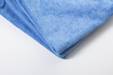 microfiber: Microfiber towel for car wipe. Stock Photo