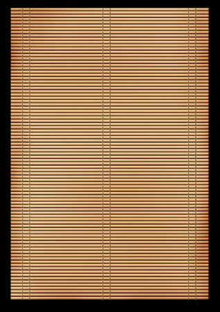 harmless: Background - an ancient volumetric Japanese reed mat