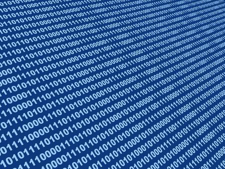 Internet concept - binary code Stock Photo - 3247669