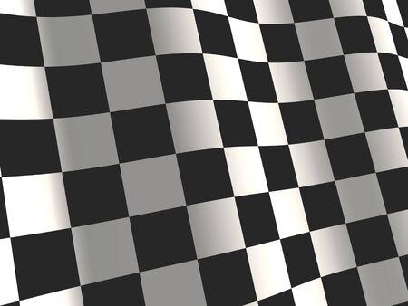 Sport sfondo - astratto bandiera a scacchi Archivio Fotografico