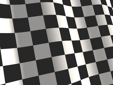 black flag: Sports background - abstract checkered flag