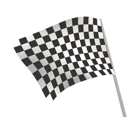 Sports background - an abstract checkered flag photo