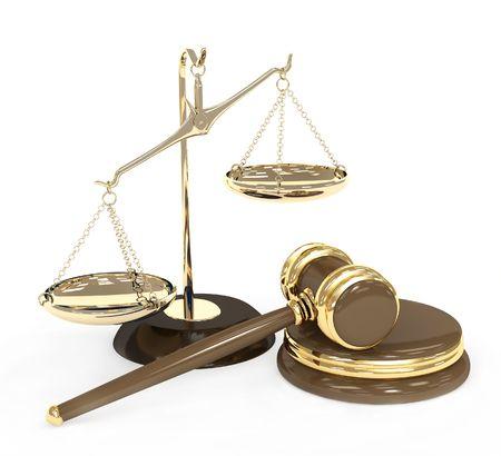 arbitrar: Oro y escalas de subasta martillo. Objetos de m�s de blanco
